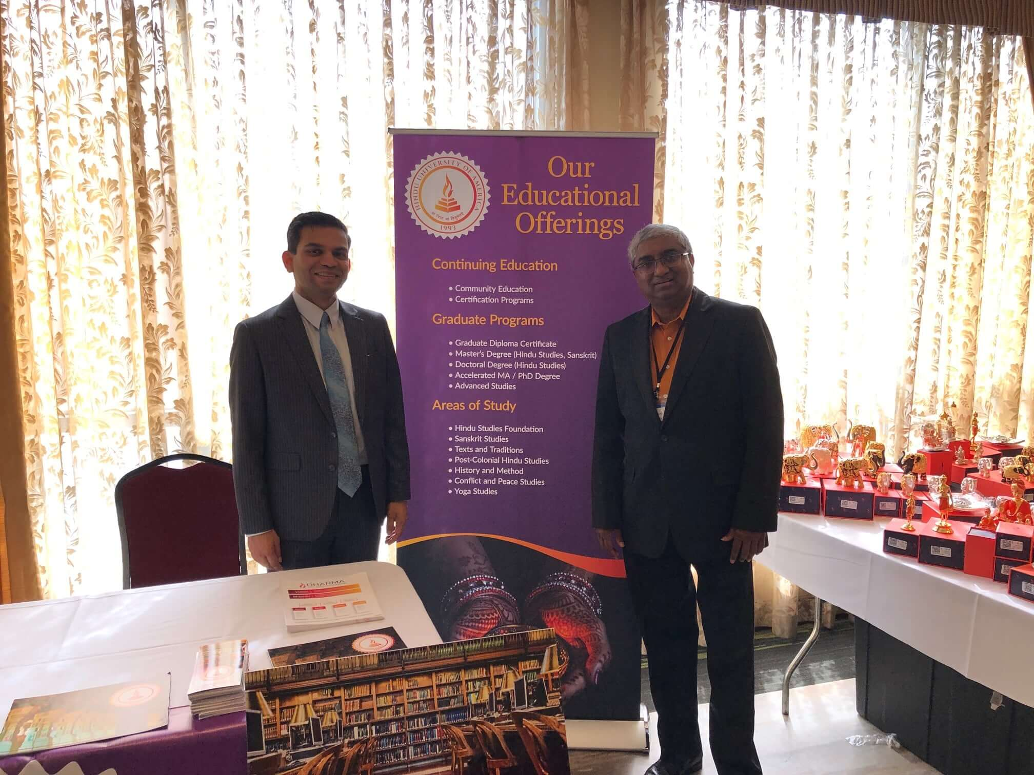 Hindu University of America at Hindu Mandir Executive Conference – 2019