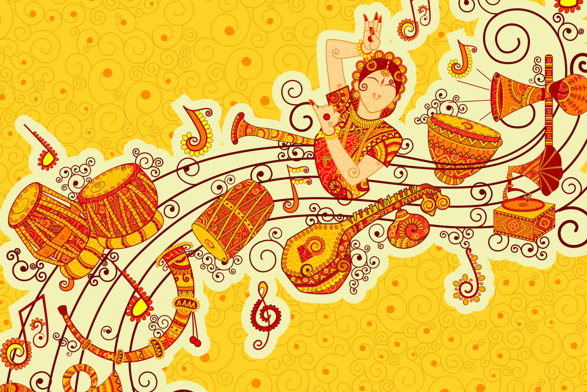 Indian and Western Music Traditions – A Comparative Study